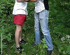 Sexy teen twinks having loads of fun in the woods